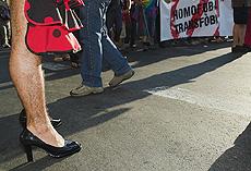 Fiesta del Orgullo Gay en Barcelona.