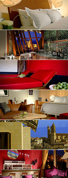 Hotel Marqués de Riscal, Elciego, Rioja alavesa