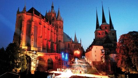 Erfurt es uno de los lugares donde más se venera a Liszt.