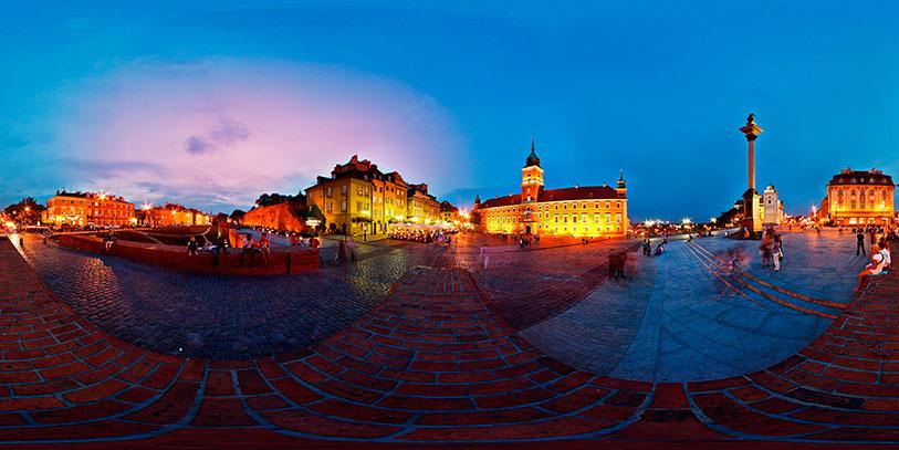 Varsovia en 360º