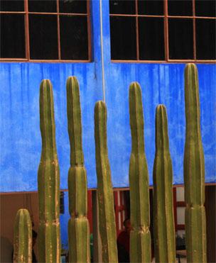 El Museo Casa Estudio Diego Rivera y Frida Kahlo en M�xico DF.