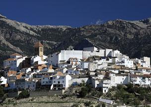 Panor�mica de Quesada, al sur de las Sierras de Cazorla, Segura y Las Villas.