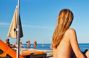 En la playa australiana de Maslin se celebran cada a�o los Juegos Ol�mpicos del Nudismo.