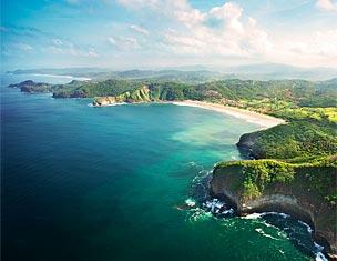 Selva tropical, playas de arena n�vea, arrecifes de coral y un mar azul turquesa que parece sacado de un sue�o.