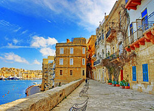 El archipi�lago de Malta, compuesto por tres islas, situadas en pleno coraz�n del Mediterr�neo.