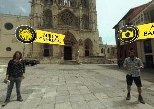 Un app con v�deos y escenas de realidad virtual para recorrer el Camino.