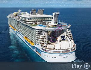 El nuevo buque <em>Harmony of the Seas</em> puede alojar a 6.780 pasajeros.