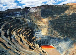El paisaje de las minas de Riotinto parece sacado de una pel�cula de ficci�n. Fotograf�a: Shutterstock