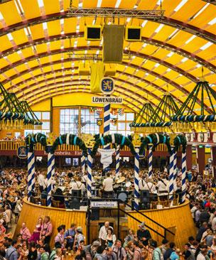 El Oktoberfest es una fiesta familiar en la que los ni�os son bienvenidos. Foto: Shutterstock.