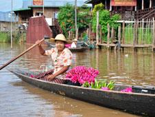 El 85% de la población de Birmania (son unos 60 millones de habitantes) profesa el budismo. Fotografía: Shutterstock