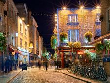 The Temple Bar es todo un clásico en Dublín.   Foto: Shutterstock
