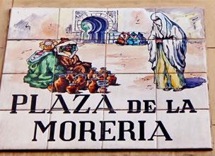 Los nombres del callejero se acuerdan del barrio donde residieron los moriscos.