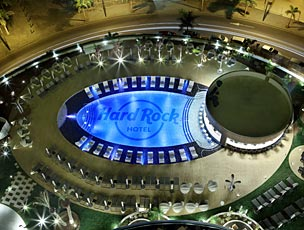 El nuevo Hard Rock Hotel de Tenerife ha abierto sus puertos en Adeje, al sur de la isla.